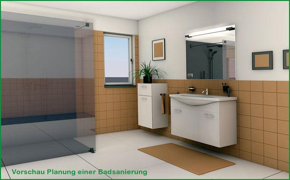 Planung Badsanierung in Augsburg und Umgebung