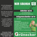 Elektriker & Anlagenmechaniker in Schwabmünchen gesucht